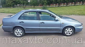 Дефлекторы окон Fiat Marea Sd 1996-2003 (Фиат Мареа) Cobra Tuning