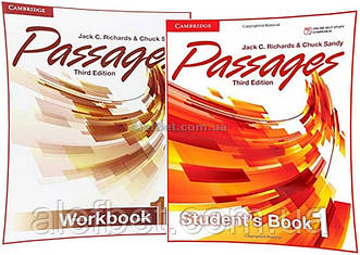 Английский язык / Passages / Student's+Workbook. Учебник+Тетрадь (комплект), 1 / Cambridge