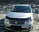 Мухобойка +на капот  VW Touran с 2007-2010 г.в. (Фольксваген Туран) Vip Tuning, фото 2