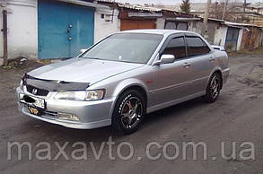 Боковые дефлекторы Honda Accord VI Sd 1998-2002/Torneo Sd 1997-2002 (Хонда Аккорд) Cobra Tuning