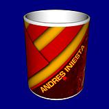 Кружка / чашка Испания Иньеста, фото 3