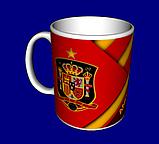 Кружка / чашка Испания Иньеста, фото 4