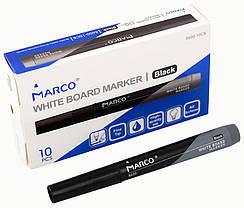 Маркер Board для сухого стирания Marco черный,круглый