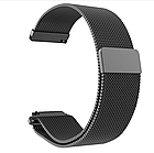 Ремешок миланская петля 20 мм для Xiaomi AMAZFIT Bip Black (Черный), фото 3
