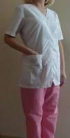 Костюм  хирургический женский (V-образный вырез). Модель КХЖ (Украина)