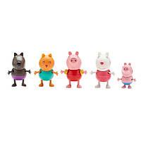 "Набор фигурок ""Свинка Пеппа и её друзья"", 5шт, фото 1"