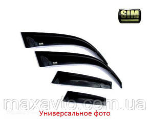 Дефлекторы стекол GEELY Emgrand EC7, HB, 12- (Джили Емгранд) SIM