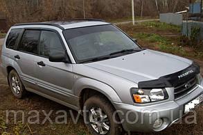Дефлекторы боковых стекол Subaru Forester II 2002-2008 (Субару форестер 2) Cobra Tuning