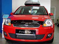 Мухобойка +на капот  FORD FIESTA 2002-2007 (Форд Фиеста) SIM