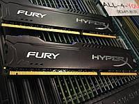 Оперативна пам`ять DDR3 16GB (2х8gb) SDRAM Kingston HyperX FURY Black