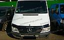 Дефлектор капота Mercedes-Benz Sprinter с 1995 – 2002 г.в. (Мерседес-бенц Спринтер) Vip Tuning, фото 3