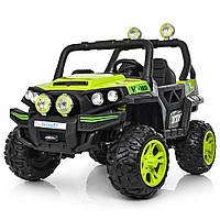 Детский электромобиль Buggy M 3825EBLR-5 зеленый Гарантия качества Быстрая доставка, фото 1