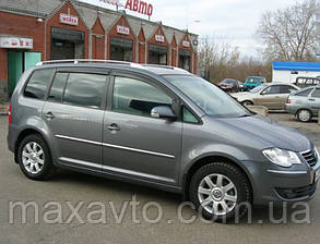 Дефлекторы окон VW Touran I 2003-2010 (Фольксваген Туран) Cobra Tuning