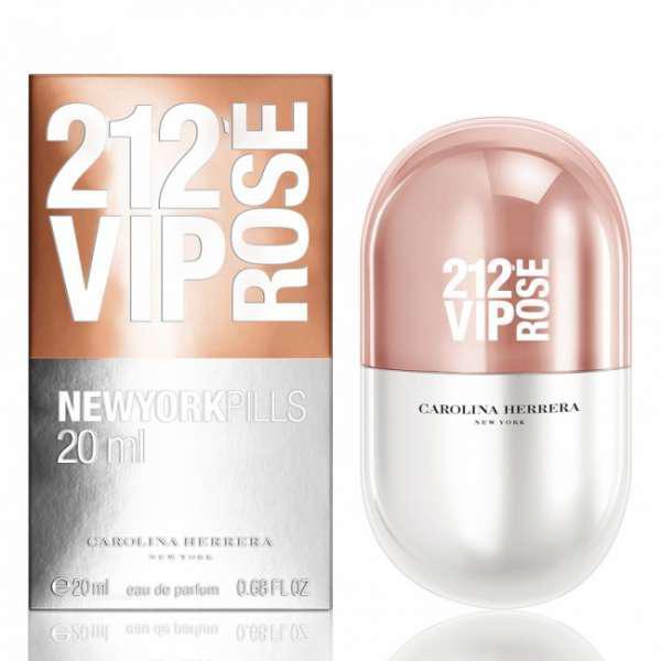 женские Carolina Herrera 212 Vip Rose New York Pills Edp 80ml в
