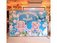 Пресс Волл  размер 2.0x2.0 м. Стенд Press Wall, фотозона, каркас для баннера