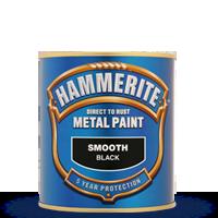 Краска Хамерайт (Hammerite) гладкая, серая,  2.5л