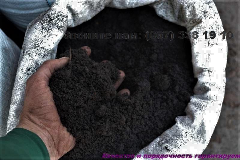 Чорнозем, земля для квітів Київ Земля для троянд Грунт для квітів Київ