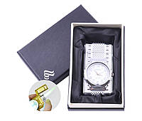 Зажигалка с часами в подарочной упаковке