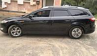 Дефлекторы окон Ford Mondeo IV Wagon 2007-2013 (Форд Мондео 4) Cobra Tuning