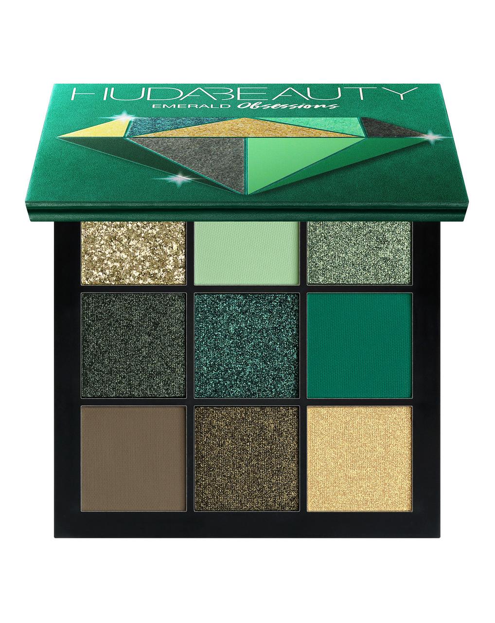 Палетка теней HUDA BEAUTY Emerald Obsessions Palette