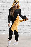 Взрослый костюм Кигуруми Енот черный liv0022 68a106c6351f4