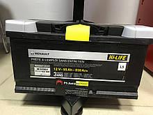 Акумулятор 95AH - 850A на Renault Master II 98->2010 Renault (Оригінал) - 7711423286