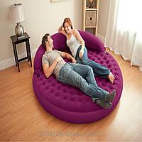 Круглая надувная кровать Лонжа intex 68881