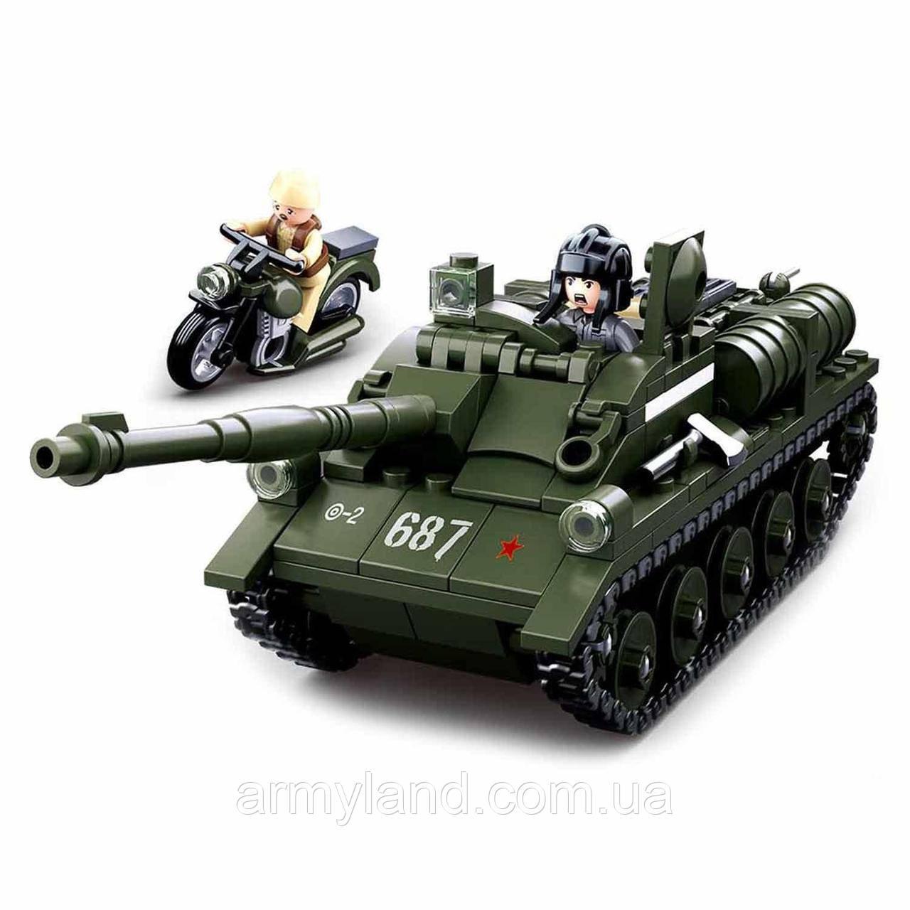 Конструктор ПТ-САУ Танк СУ-85