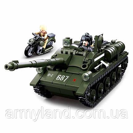 Конструктор ПТ-САУ Танк СУ-85, фото 2