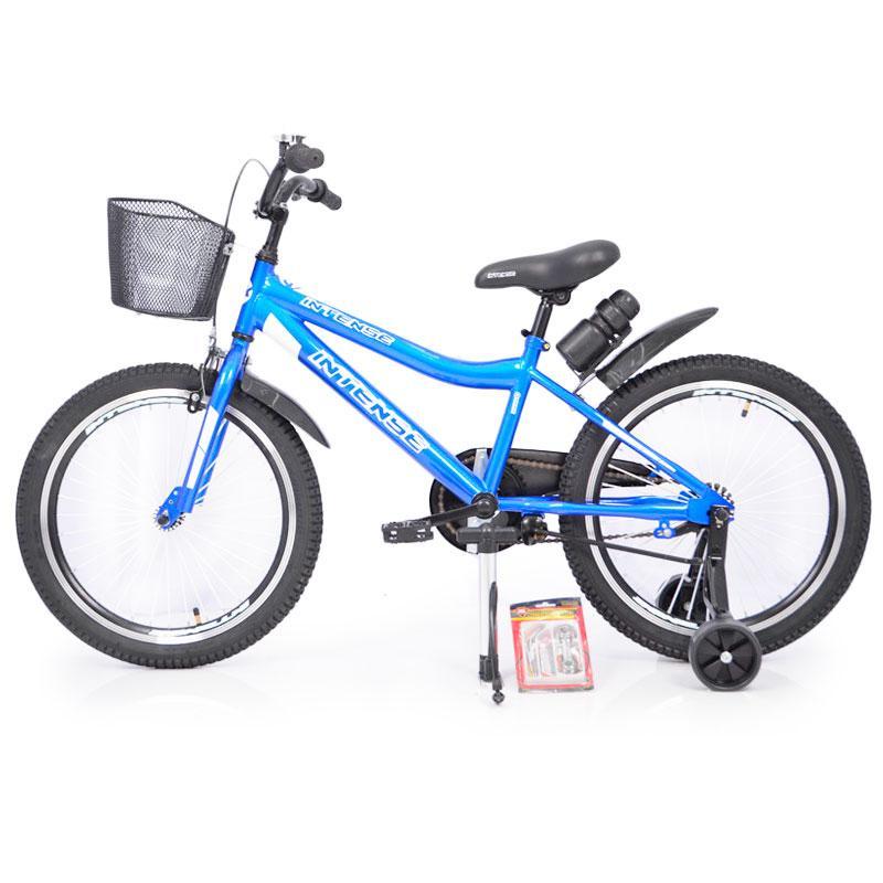 """Детский Велосипед INTENSE 20"""" N-200 Blue +Насос+Рем.коплект +Бутылочка"""