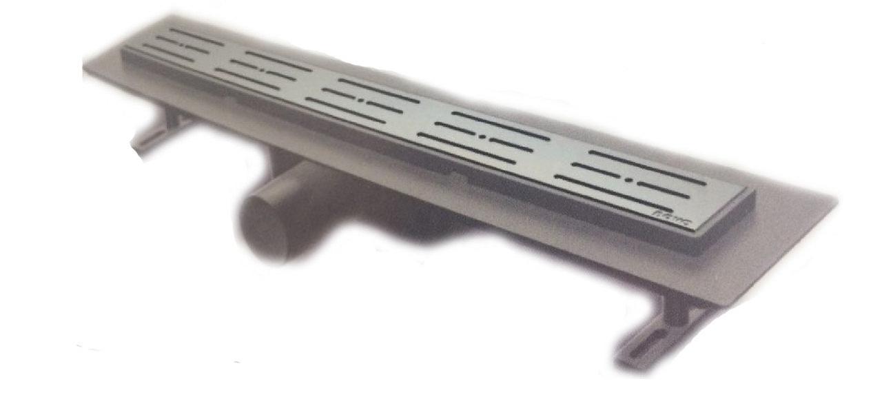 Душевой трап из нержавеющей стали Nova 65х800 мм 5205