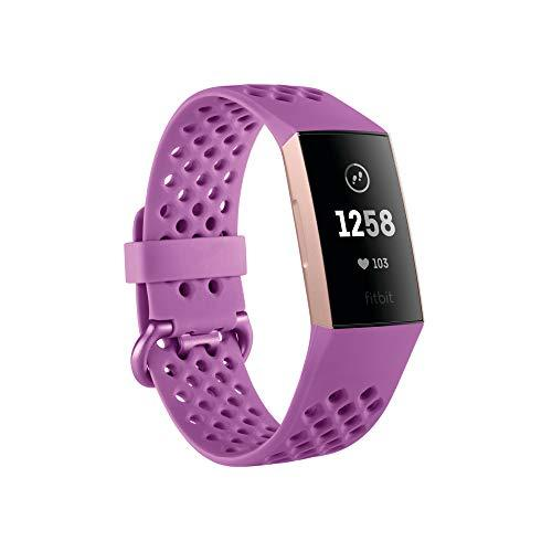 Фитнес-браслет Fitbit Charge 3 Rose-Gold/Berry  (FB409RGMG) Limited edition