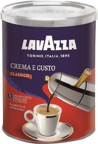 Кава Lavazza Crema e Gusto Gusto Classico 250 г (мелений Ж/Б)
