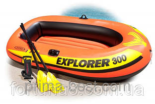 Надувная лодка Explorer - 300 Set Intex 58332