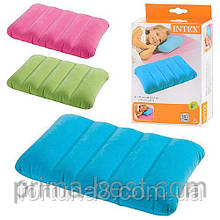 Надувная подушка Intex 68676, 3 цвета