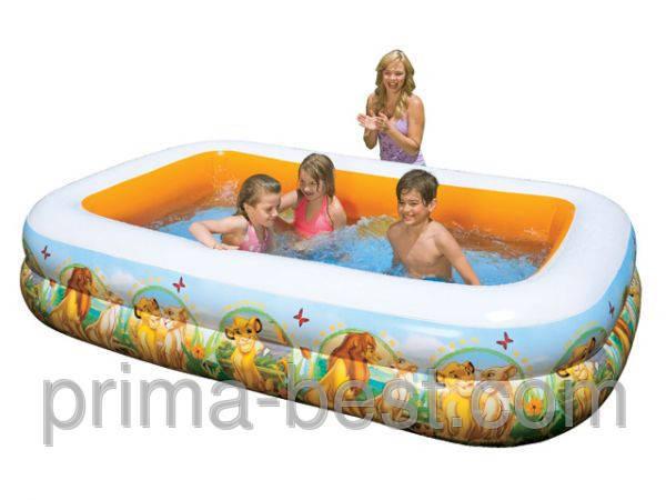"""Детский надувной бассейн Король Лев Intex 57492 """"Дисней"""", фото 2"""