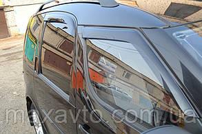 Дефлекторы боковых стекол Skoda Roomster  2006 (Шкода румстер) Cobra Tuning