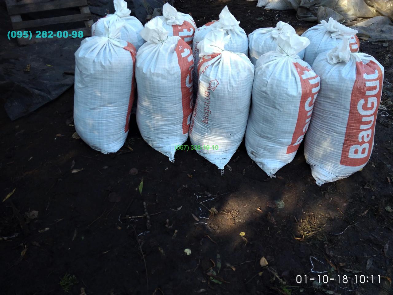 Чернозем в мешках  Киев Святошино Борщаговка Почва Грунт в мешках