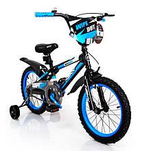 Детский Американский Велосипед NEXX BOY-16 Black-Blue