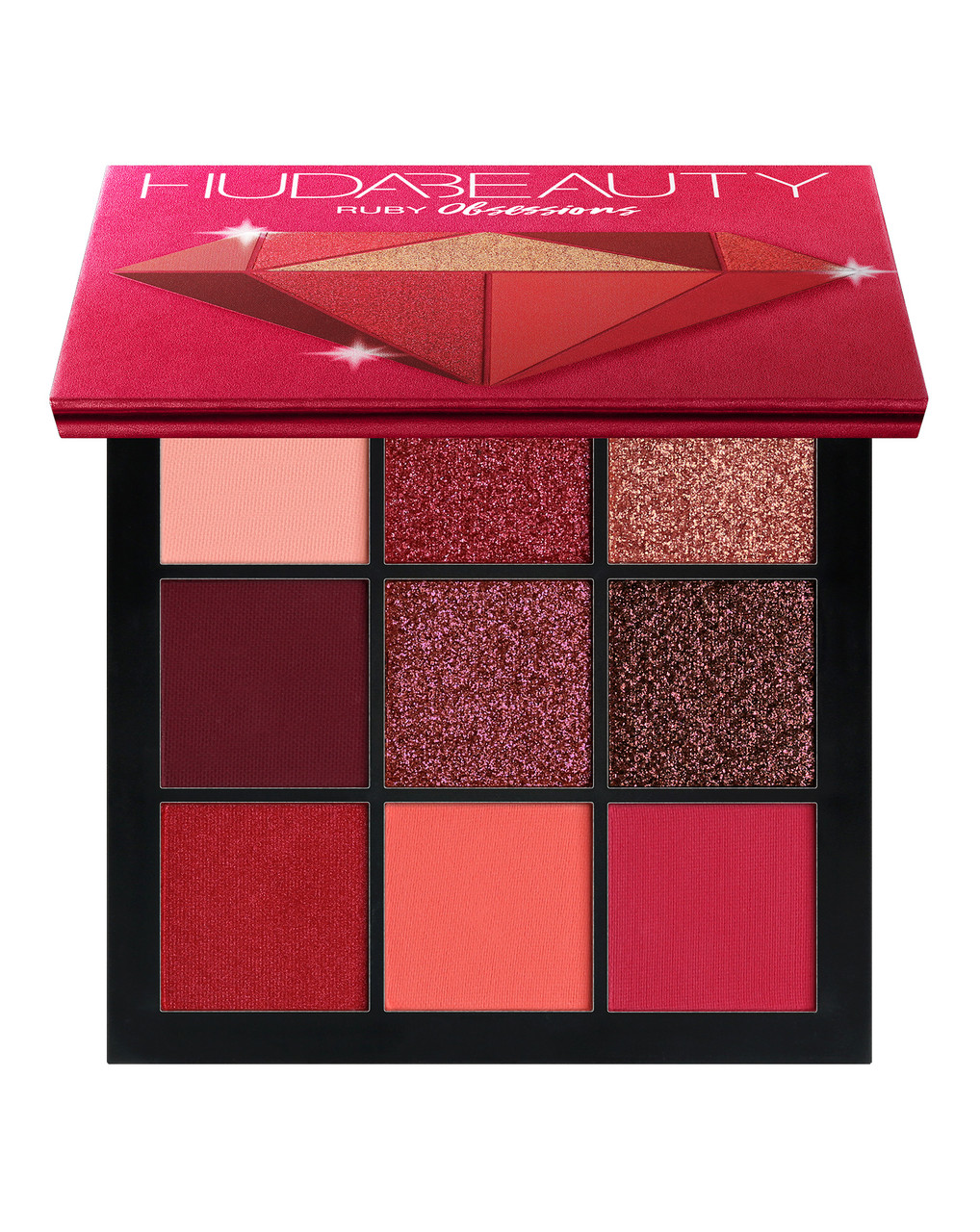 Палетка теней HUDA BEAUTY Ruby Obsessions Palette