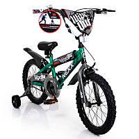 Детский  Велосипед NEXX BOY-16  Green Splash