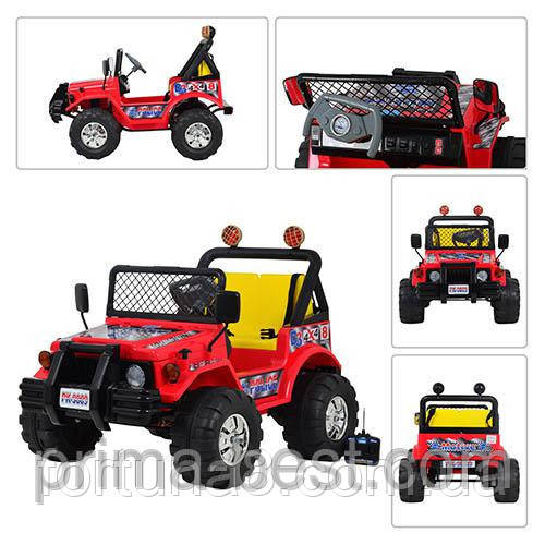 Детский двухместный электромобиль Джип A 15-6