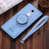 """Противоударный Чехол для Xiaomi Redmi 5 """"Dog"""" + PopSocket (Комплект)"""