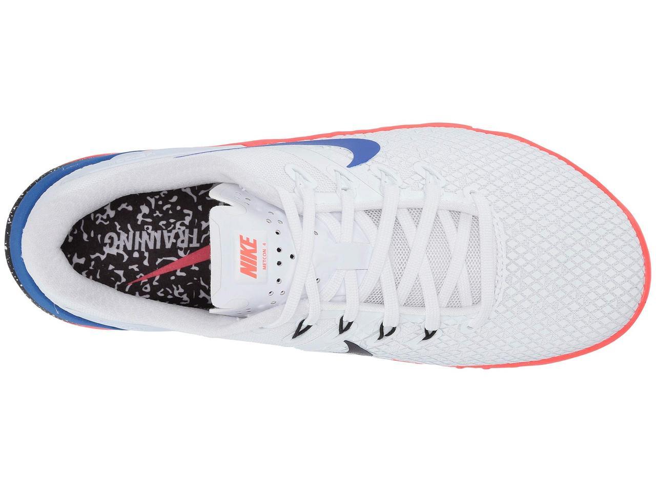 496a98a24e7e ... Кроссовки Кеды (Оригинал) Nike Metcon 4 XD White Racer Blue Flash ...