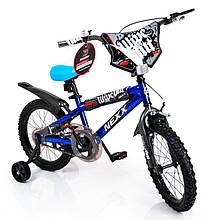Детский Американский Велосипед NEXX BOY-16 Blue Splash