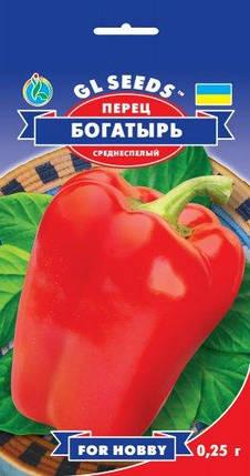Перец Богатырь, пакет 0,25 г - Семена перца, фото 2