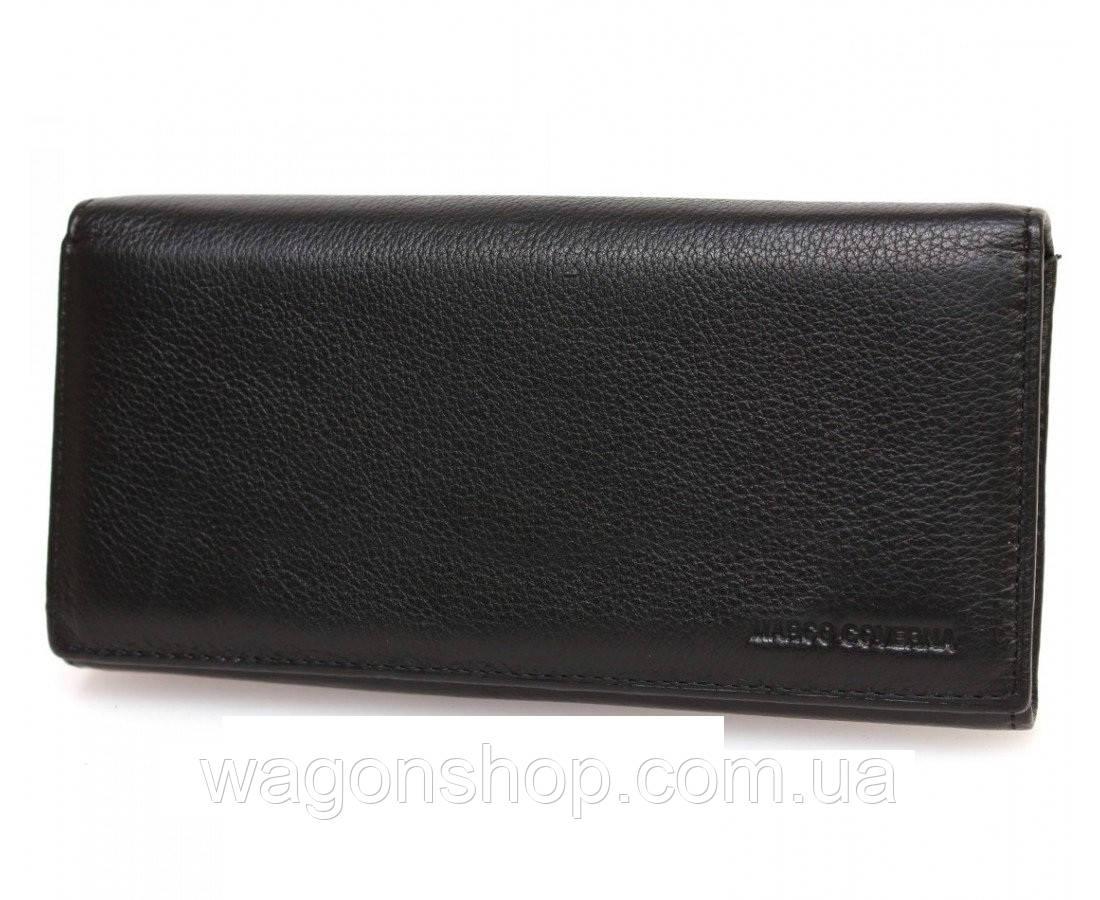 a872c719b9a1 Женский кожаный кошелек с внутренним блоком под много карточек Marco Coverna  - Интернет - магазин