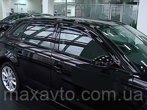 Боковые дефлекторы AUDI A3/S3 2005- темный (Ауди А3) SIM