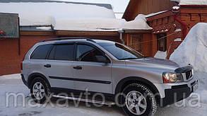 Дефлекторы окон Volvo XC90 2003- (Вольво ХС80) SIM