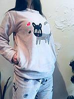 Пижама тёплая женская , фото 1